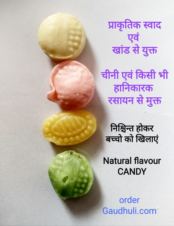 Organic Candy Mix Flavour ( 250 gm) (No Sugar, artificial flavour or colour)