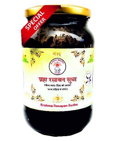 Brahma Rasayan Sudha / ब्रह्म रसायन सुधा (48 गुणकारी जड़ीबूटी युक्त) – 500 ml